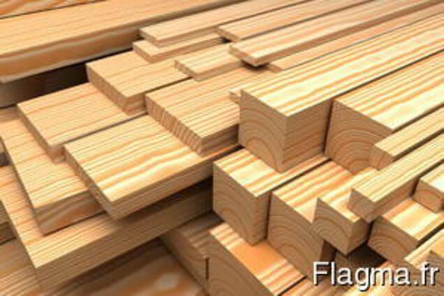 Billettes en bois, palettes, rails, doublure, rondins.