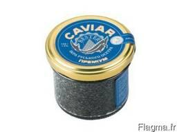 Natural black caviar of Russian sturgeon - photo 1