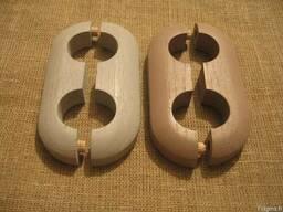 Декоративные накладки на трубы (деревянные) - photo 2