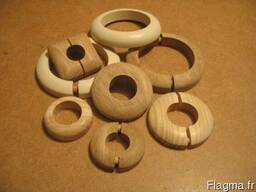 Декоративные накладки на трубы (деревянные) - photo 3