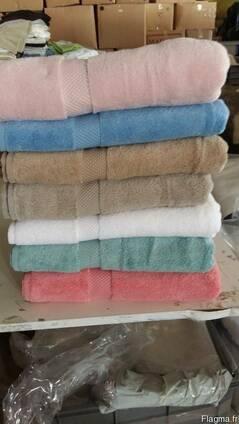 Махровые полотенца сток