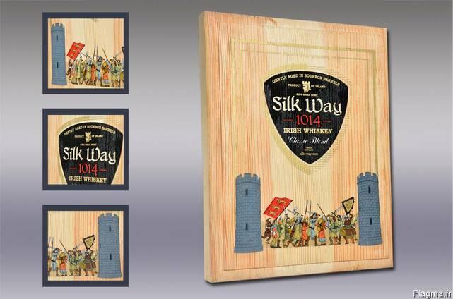 Сувенирная деревянная упаковка