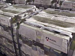 Aluminium primaire A-7 | Lingot d'aluminium GOST de Russie