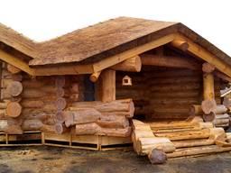 Дома из бревна рубленного любой сложности - фото 3