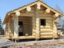 Дома из бревна рубленного любой сложности - фото 7