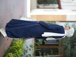 Хиджабы джинсовые высокакачественная ткань