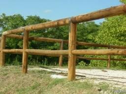 Колья оцилиндрованные, столбы виноградные, палисады - фото 7