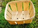 Paniers en placage de fruits - photo 1