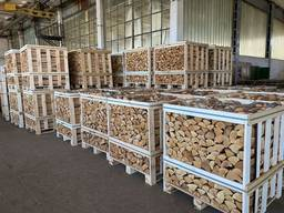 Premium fireplace hardwood logs