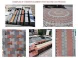 Блок линия для производства тротуарной плитки U-1500 Швеция - photo 8