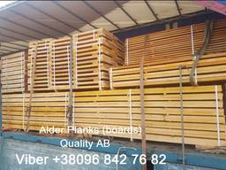 We sell sawn timber, edged planks, blanks Aspen, Alder